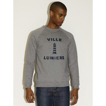 """VILLE LUMIERE 02"" - HEATHER GREY"
