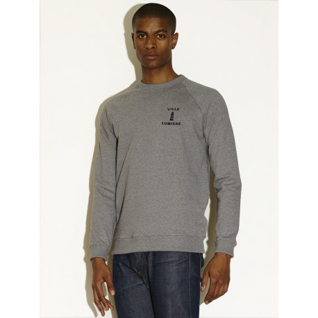 """VILLE LUMIERE 01"" - HEATHER GREY"