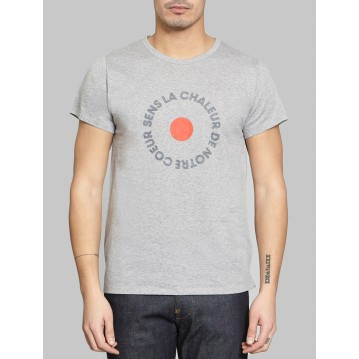 """COEUR"" T-SHIRT - HEATHER GREY"